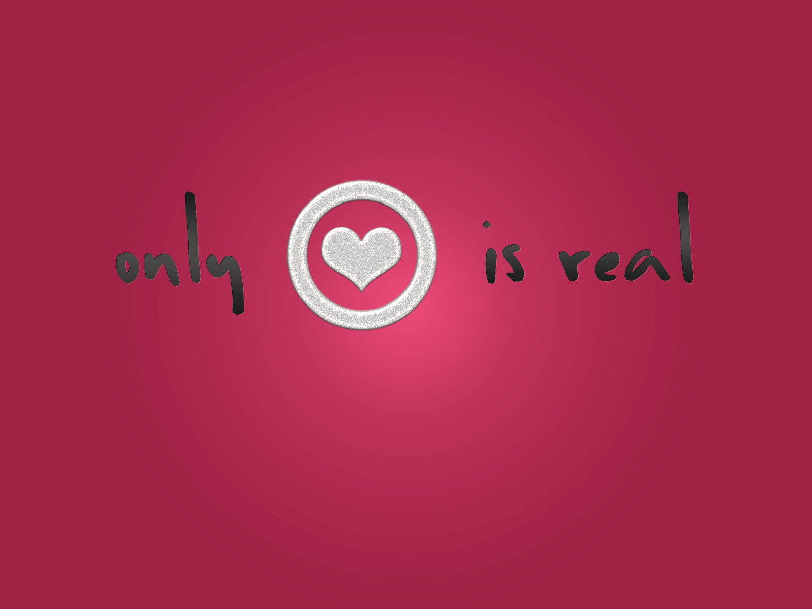 Only Love Is Real Wallpaper By Meebits On Deviantart