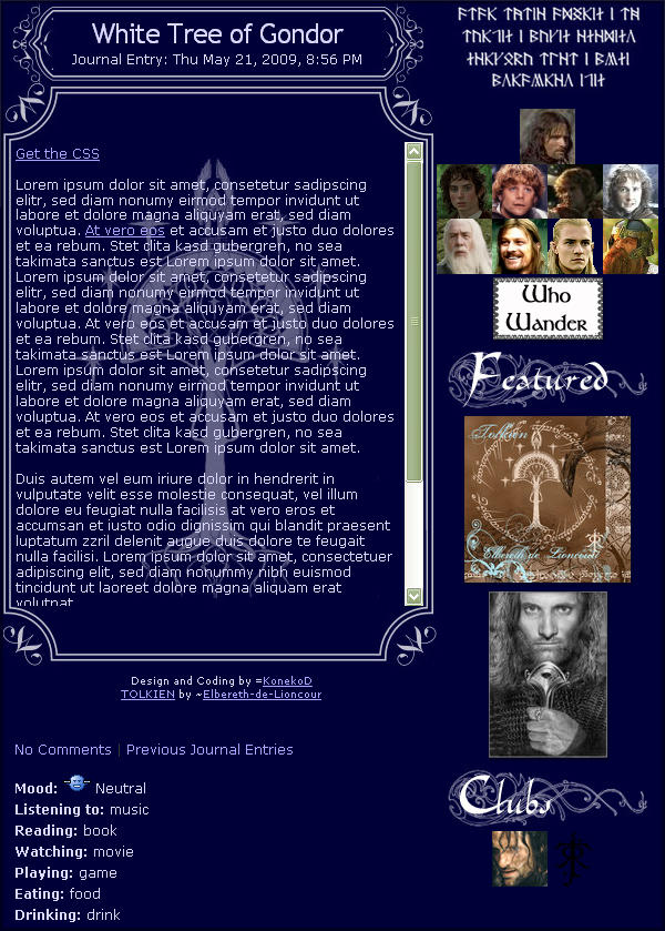 White Tree of Gondor by KonekoD