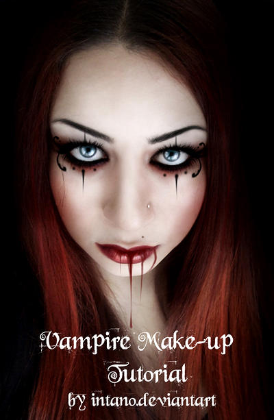 VAMPIRE MAKE UP TUTORIAL by intano-stock