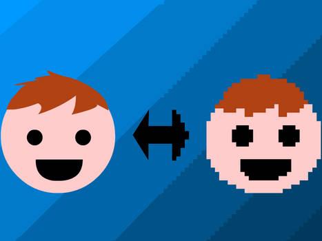 I'm Turning Pixel - Wallpaper