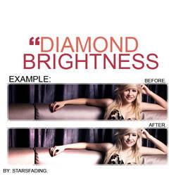 diamond brightness.