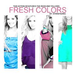 fresh colors.