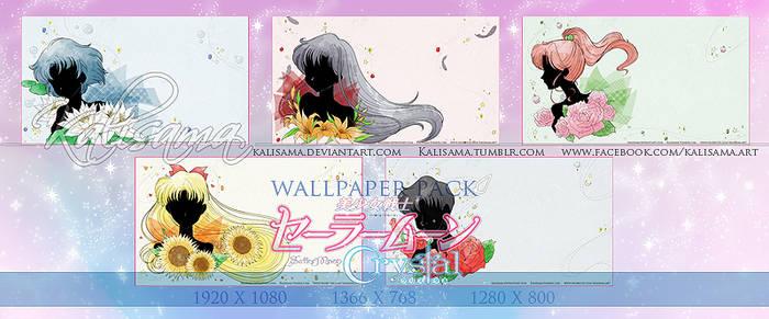 SM Crystal Inner Senshi Wallpaper Pack