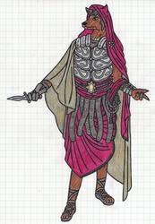 Roman concept outfit
