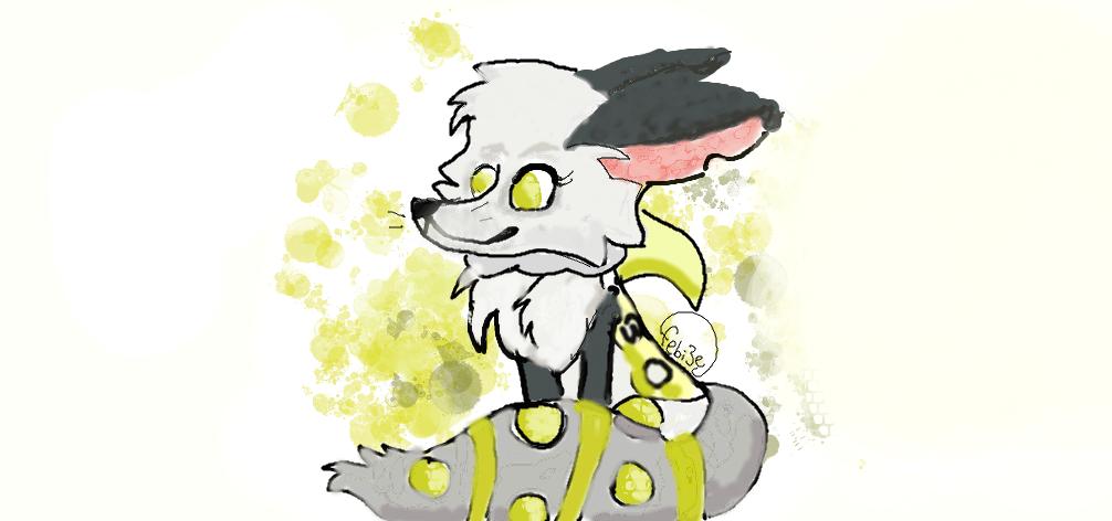 Arctic fox drawing! - Animal Jam ( me ) by Febi3e on ...