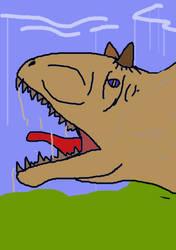 Dinos Until Christmas: Carnotaurus Day 39