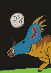 Dinos Until Christmas: Styracosaurus Day38-33