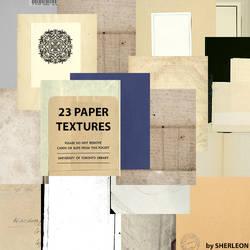 23 Paper Textures