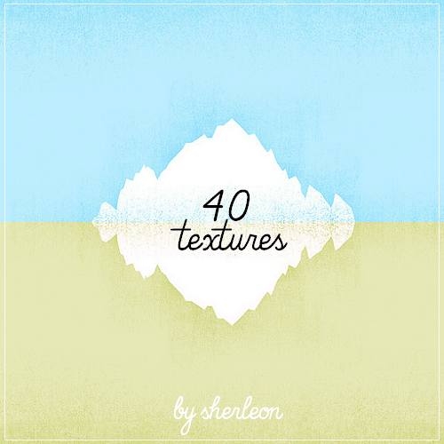 40 random textures by sherleon