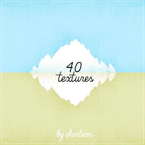 40 random textures by sherleon