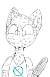 Mae borowski animation Progress #2 by Nebula-pAws