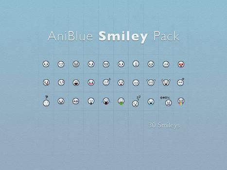 Aniblue Smileys