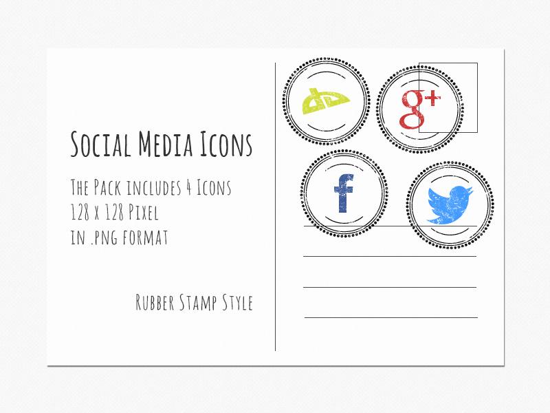 Social Media Icons by Sirri-R-P