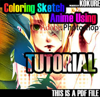 Coloring Anime Tutorial by kokure