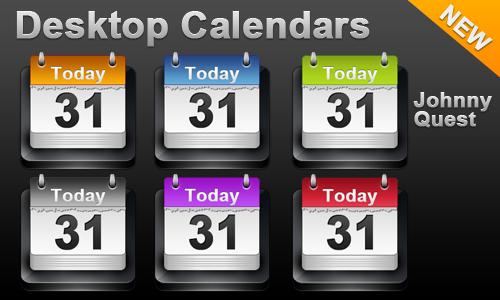Desktop Calendar icon