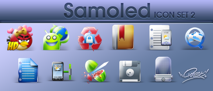 Samoled: set 2 by jquest68