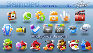 Samoled: icon set 4
