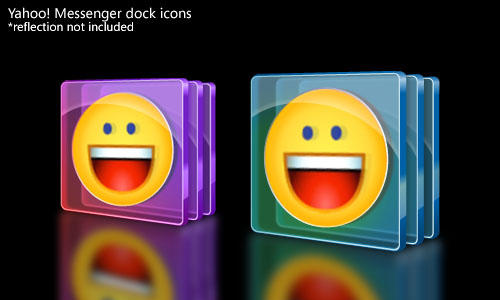 Yahoo Messenger icons - old by jvsamonte