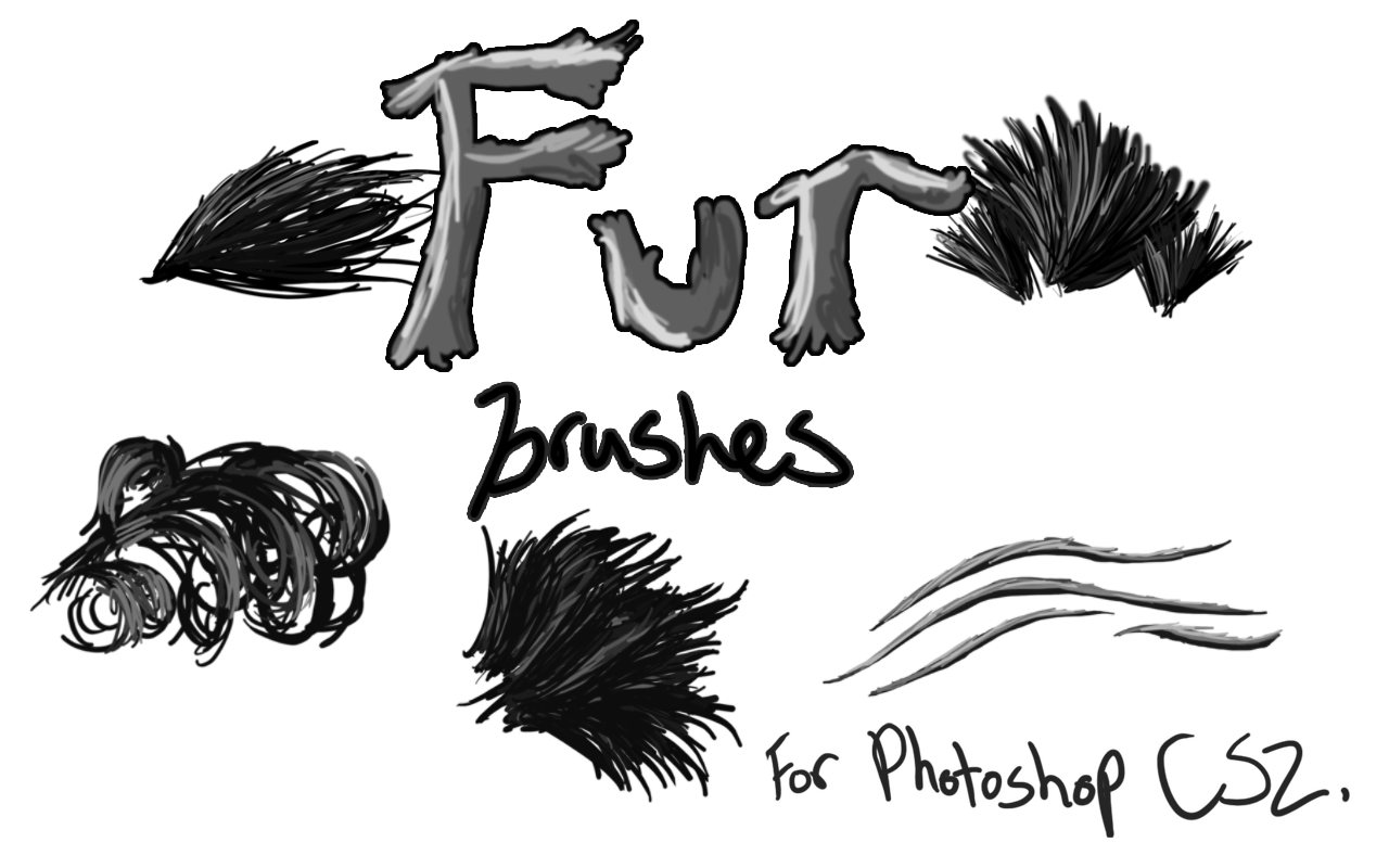 Fur Brushes for Photoshop CS2