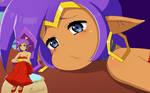 Shantae x Ristarte (gif)