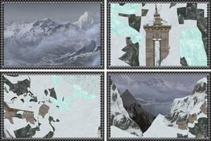 [MMD] Everest Himalaya Mountain Stage