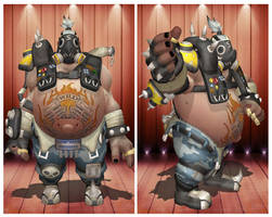 [MMD] Overwatch Roadhog