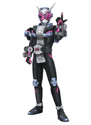 [MMD] Kamen Rider Zi-O by arisumatio