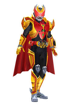 [MMD] Kamen Rider Kiva Emperor Form