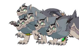 Merlock wolf run by GantzAistar