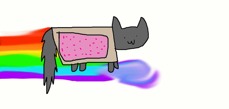 Nyan cat by Slushycat1212