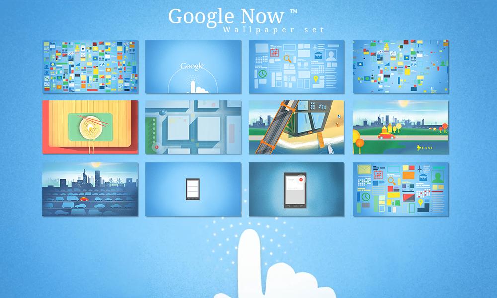 Google Now Wallpaper set by jkolliyil