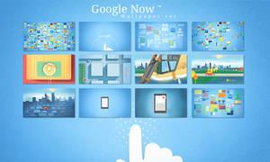 Google Now Wallpaper set