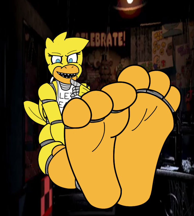 Chica Feets By Kyudude On Deviantart-2519