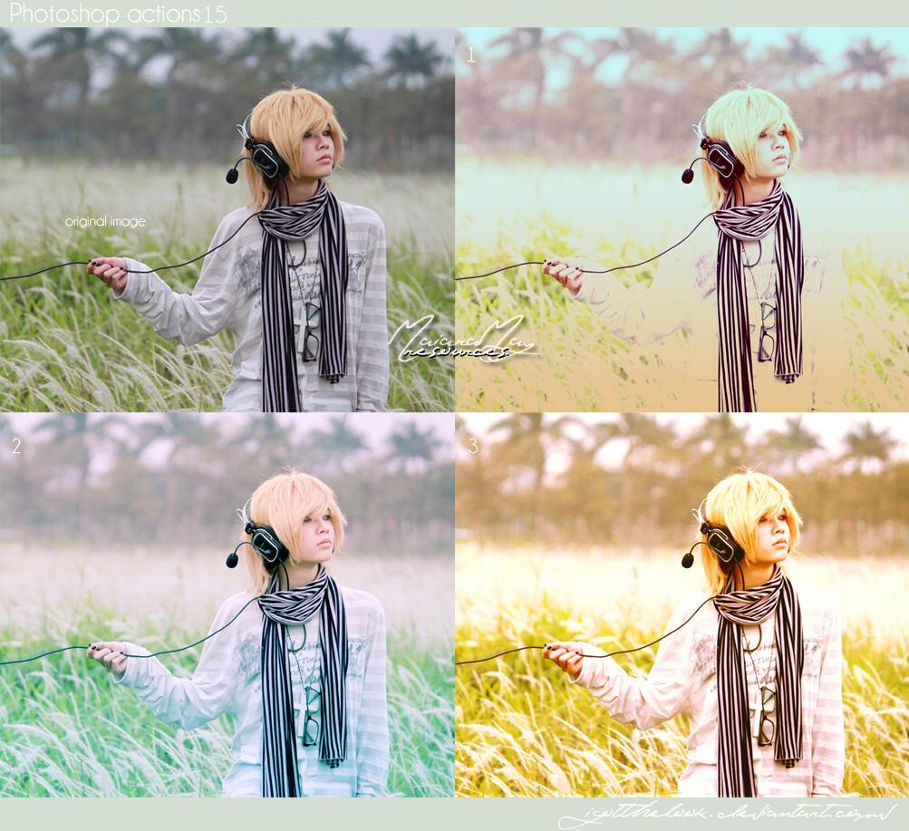 Photoshop Actions 15 by IGotTheLook