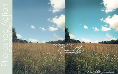 Landscape Effect PS Action
