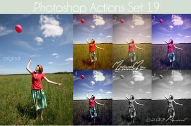 Photoshop Actions 19 by IGotTheLook