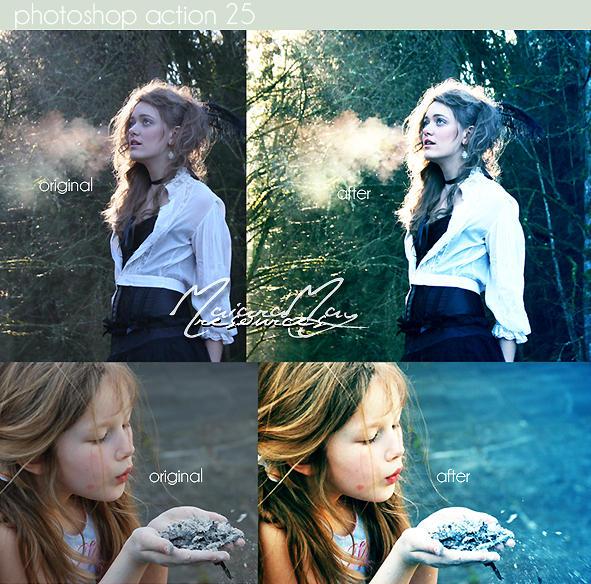 Photoshop Action 25 by IGotTheLook