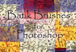 Batik Brushes