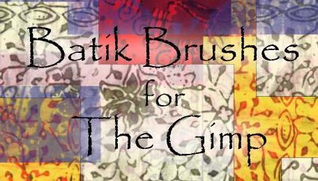 Batik Brushes for The Gimp