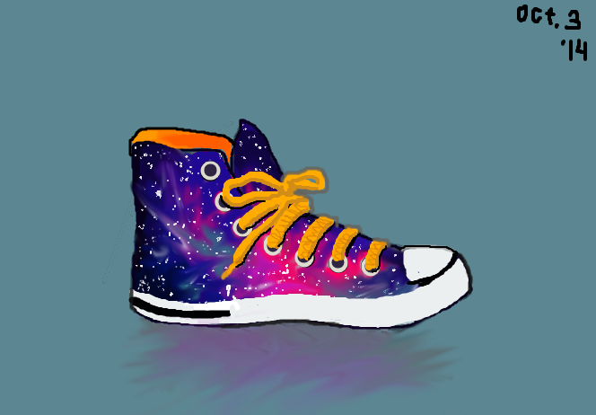Galexy Hightop. by Dustywallpaper