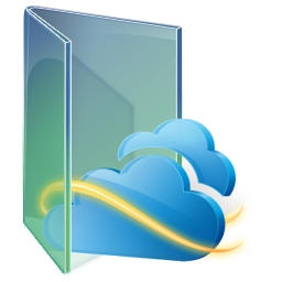 SkyDrive Green folder by kizo2703