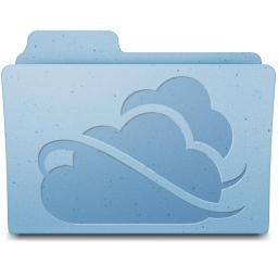 SkyDrive folder Mac style by kizo2703