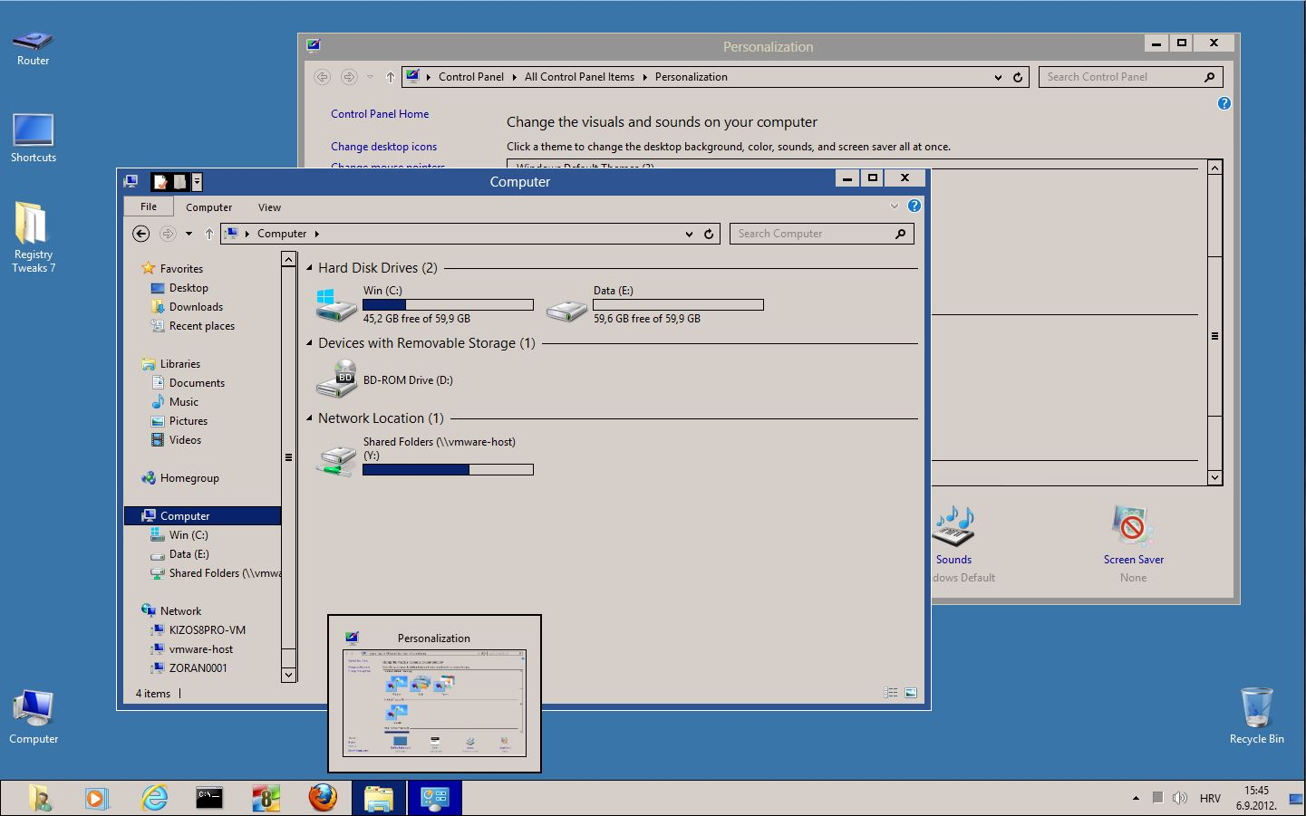 Windows classic theme for Windows 8 RTM, 8.1, 10