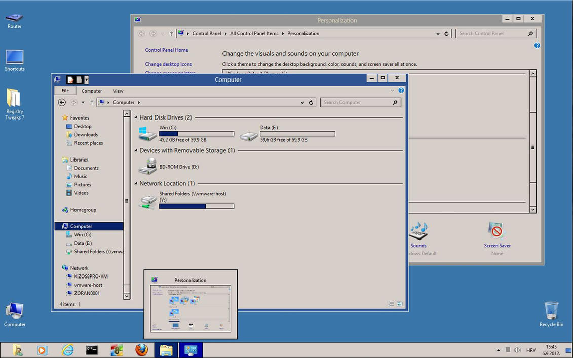 Windows classic theme for windows 8 rtm 8 1 10 by for Windows windows