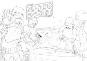 Busted in Tatooine Step by Step