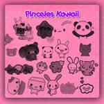 Pinceles Kawaii