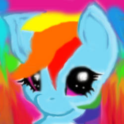 Rainbow dash by mylittlepony222345
