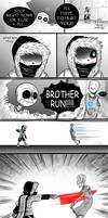 X-Hand - Pg 35-36 - (Undertale AUs comic) by Dra-Aluxe