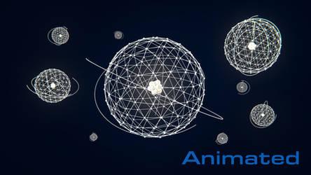 Atomic - Animated 4k (3840x2160) by AxiomDesign