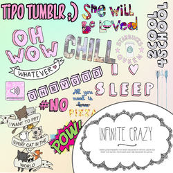 PNG's Tipo Tumblr! By PastelitoLoco